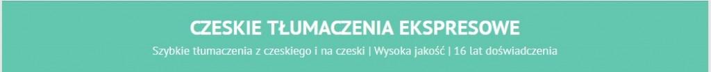 czeskie